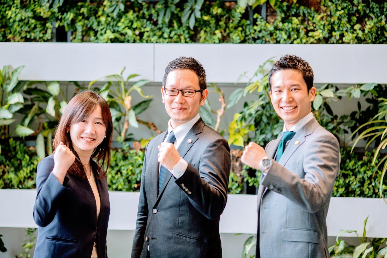 弁護士と事務員のチーム